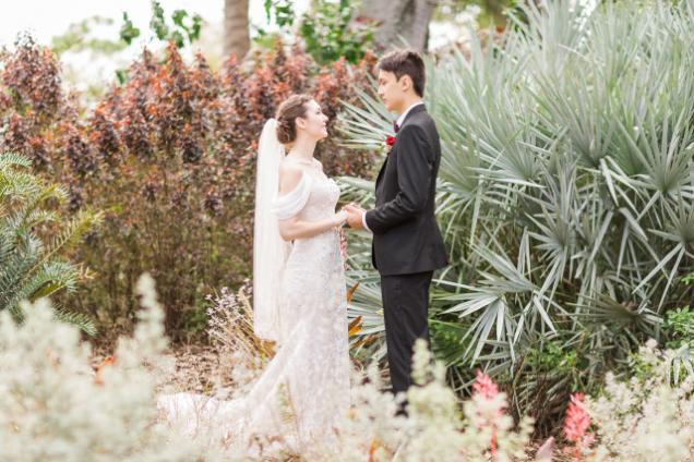 Garden Wedding - Paper Tree Photography