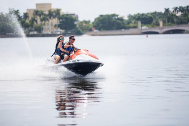 Jet Skiing with Visit Palm Beach