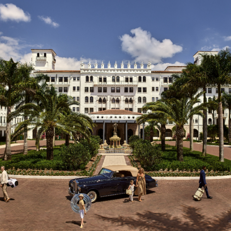 Boca Raton Resort Club Front Entrance