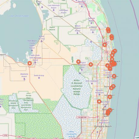 Explore Cities in The Palm Beaches