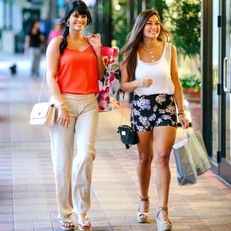 Shopping in the Palm beaches