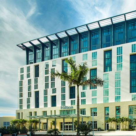 Meeting Hotels - Hilton West Palm next to Convention Center