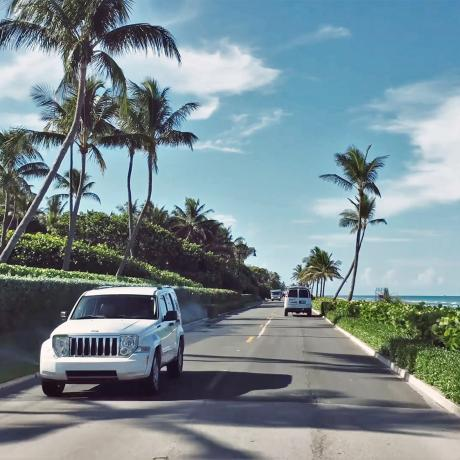 Road Access to The Palm Beaches