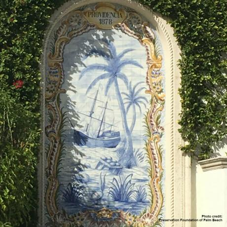 Providencia mural in Palm Beach