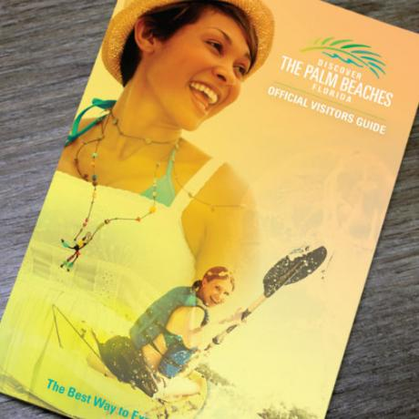 The Palm Beaches 2018 Visitors Guide Cover