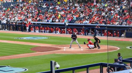 Batee en The Ballpark of The Palm Beaches