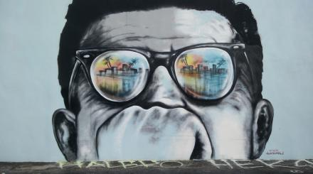 A mural of John Kennedy is just one stop on a Presidential Tour in The Palm Beaches