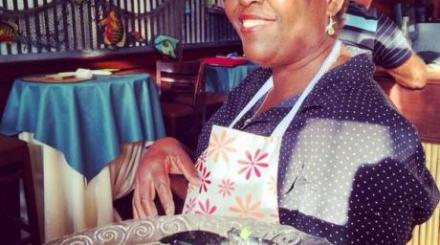 Chef Beverly Jacobs of Bamboo Fire Cafe