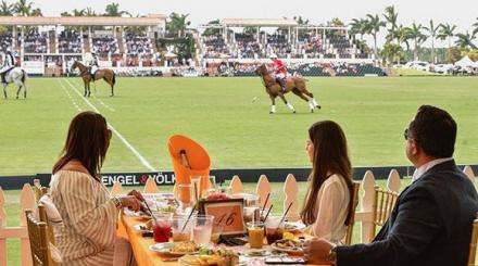 International Polo Club Sunday brunch