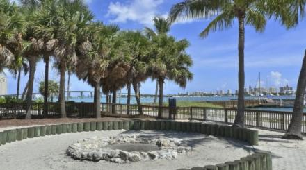 Peanut Island Campground Fire Ring-img