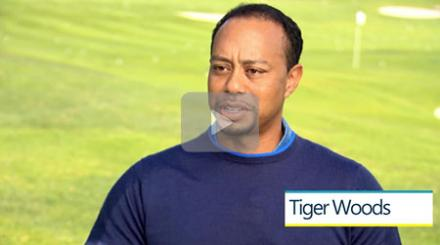 Tiger Woods on The Palm Beaches