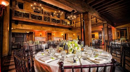 Vintage wedding reception at The Addison