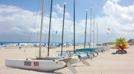 Boats of all shapes and sizes await you in The Palm Beaches