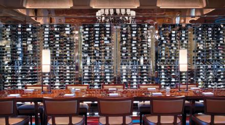 Wine Wall at HMF
