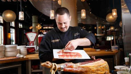 Q a with executive chef kevin darr discover the palm beaches - City cellar wine bar grill ...