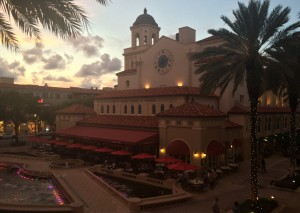 cityplace evening